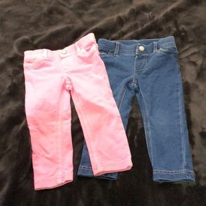 Carter's Bottoms - Carters 12 months stretch jeans
